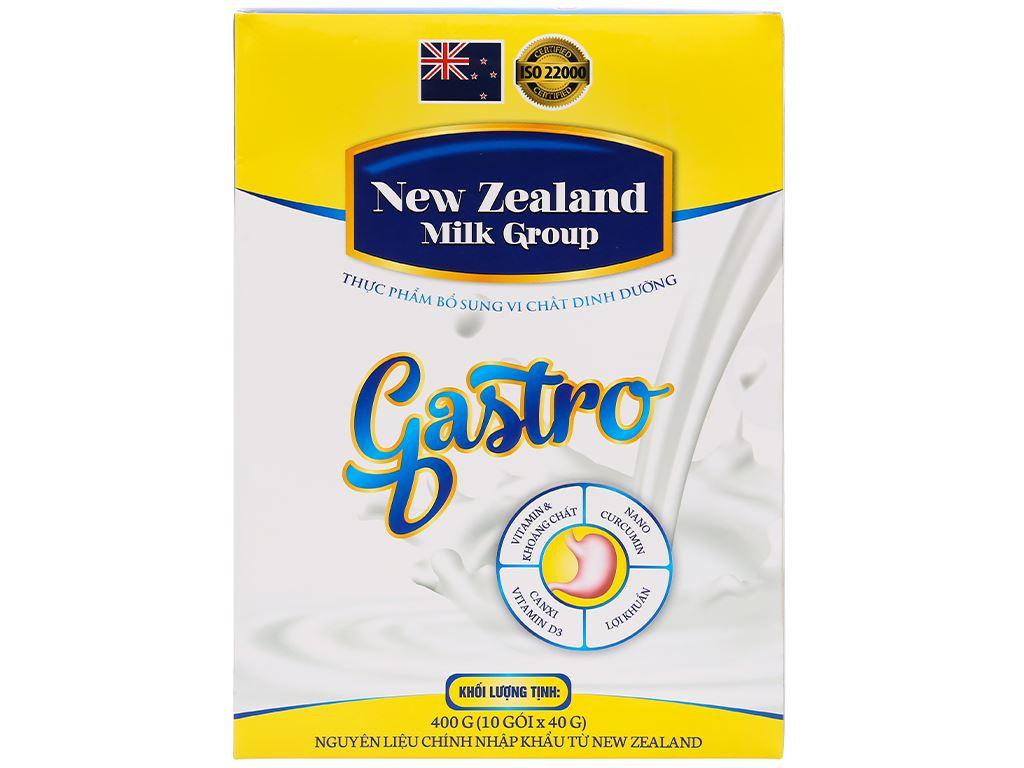 Sữa bột New Zealand Milk Gastro hộp 400g (cho người lớn) 1