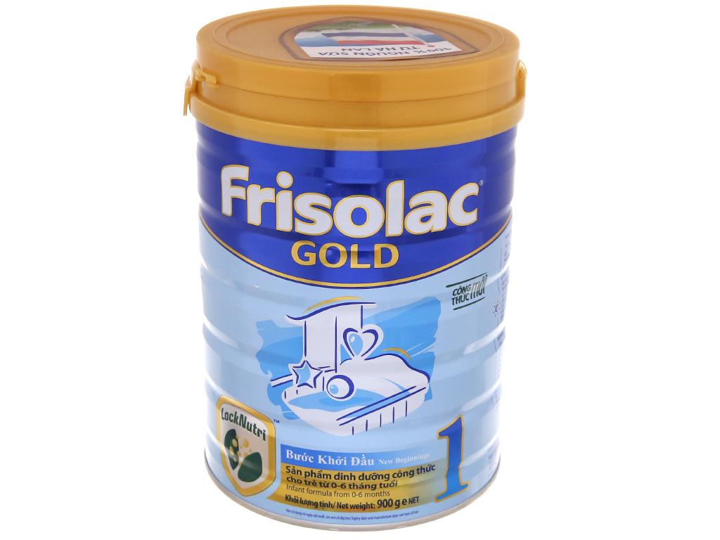 Sữa bột Frisolac Gold 1 lon 900g (0 - 6 tháng) 2
