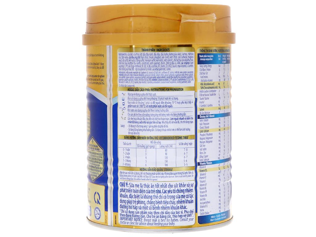 Sữa bột Dielac Alpha Gold 1 lon 400g (0 - 6 tháng) 3