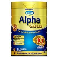Sữa bột Dielac Alpha Gold 1 400g (dưới 6 tháng)