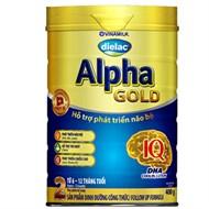 Sữa bột Dielac Alpha Gold 2 400g (6 - 12 tháng)