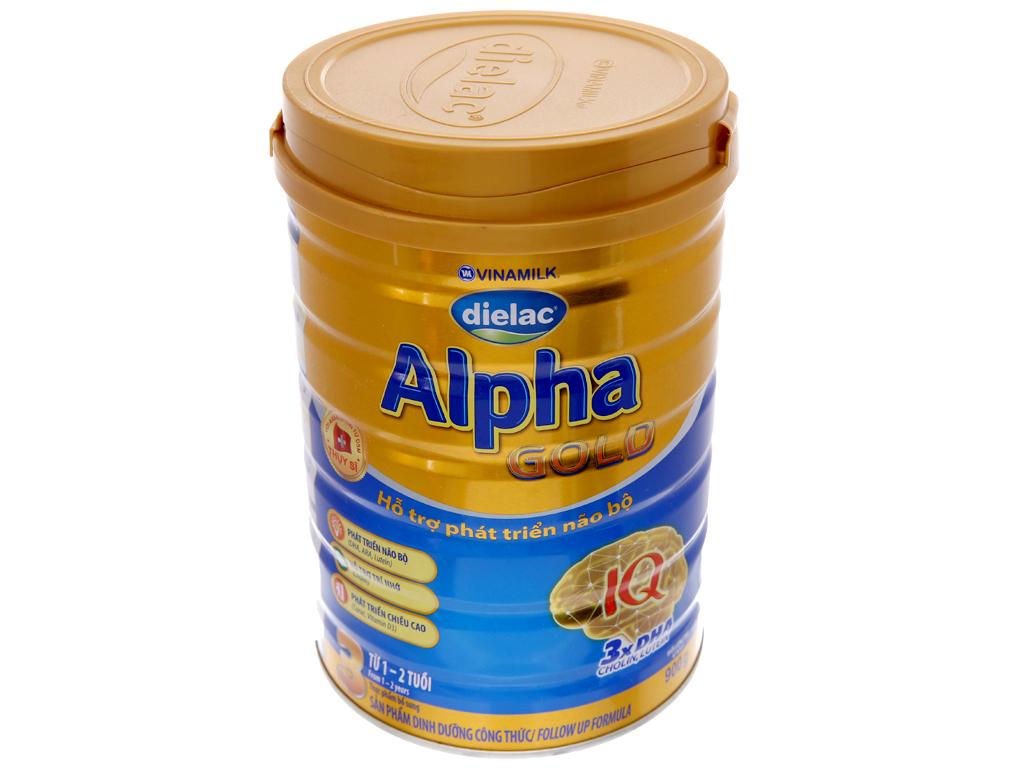 Sữa bột Dielac Alpha Gold 3 lon 900g (1 - 2 tuổi) 2