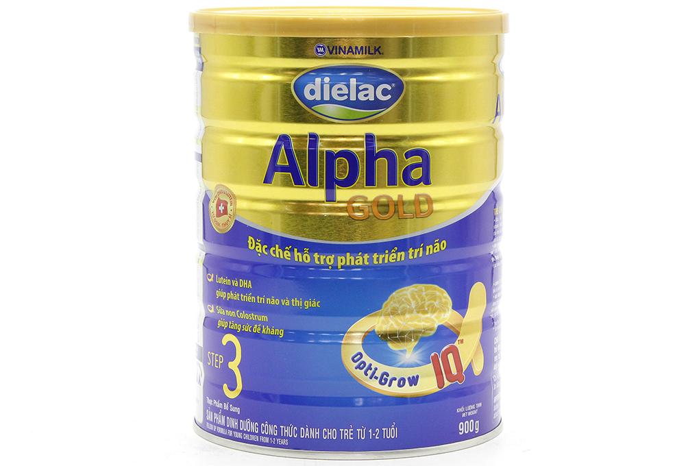 Sữa bột Dielac Alpha Gold Step 3 HT 900g