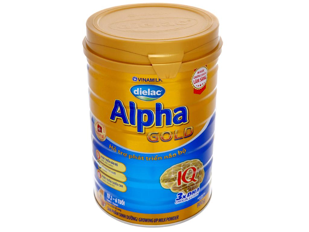 Sữa bột Dielac Alpha Gold 4 lon 900g (2 - 6 tuổi) 2