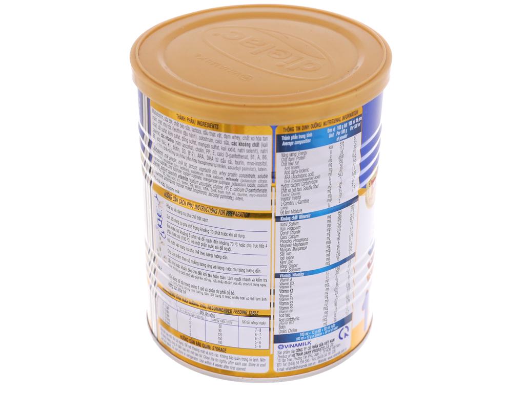 Sữa bột Dielac Alpha 1 lon 400g (0 - 6 tháng) 4
