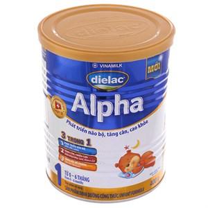 Sữa bột Dielac Alpha 1 lon 400g (0 - 6 tháng)