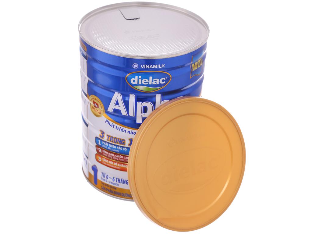 Sữa bột Dielac Alpha 1 lon 900g (0 - 6 tháng) 5