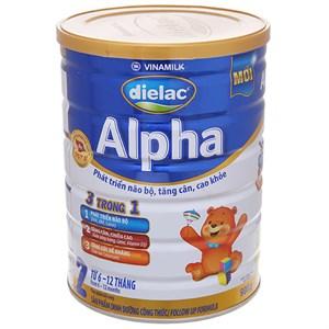 Sữa bột Dielac Alpha 2 lon 900g (6 - 12 tháng)