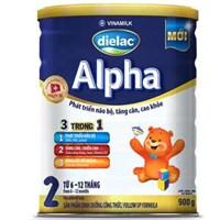 Sữa bột Dielac Alpha 2 900g (6 - 12 tháng)
