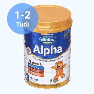 Sữa bột Dielac Alpha 3 lon 900g (1 - 2 tuổi)