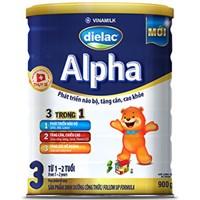 Sữa bột Dielac Alpha 3 900g (cho bé 1-2 tuổi)