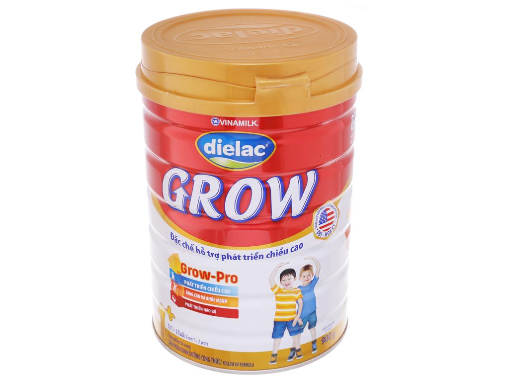 Sữa bột Dielac Grow 1+ lon 900g (1 - 3 tuổi) 1