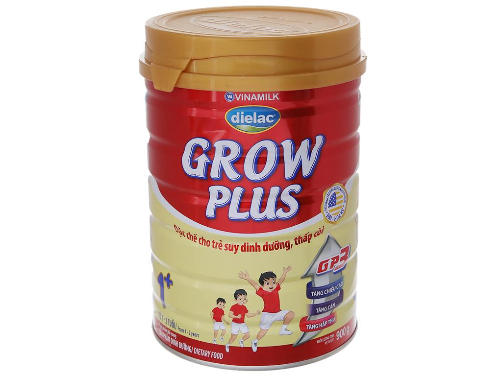Sữa bột Dielac Grow Plus 1+ đỏ lon 900g (1 - 2 tuổi) 2