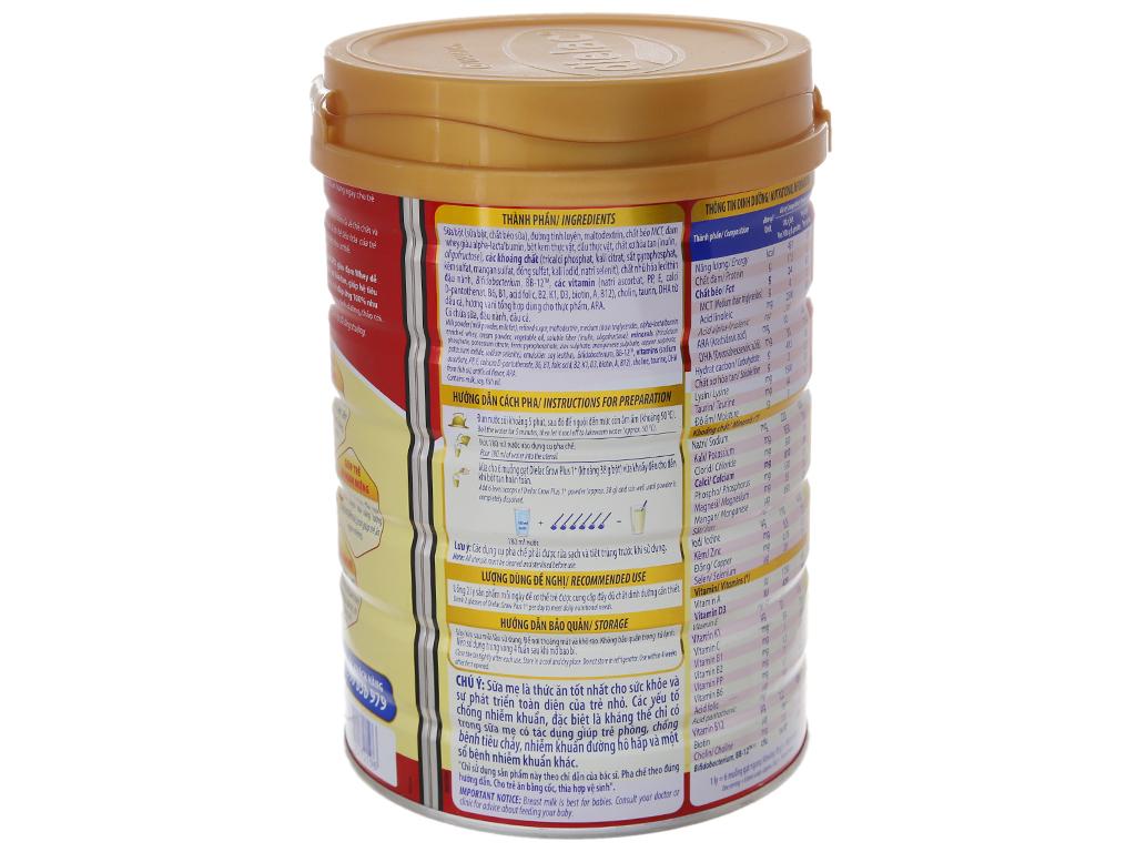 Sữa bột Dielac Grow Plus 1+ đỏ lon 900g (1 - 2 tuổi) 3