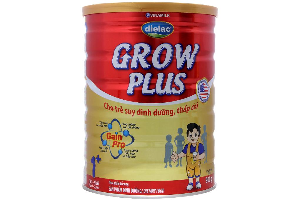 Sữa bột Dielac Grow Plus 1+ 900g (cho bé 1-2 tuổi)