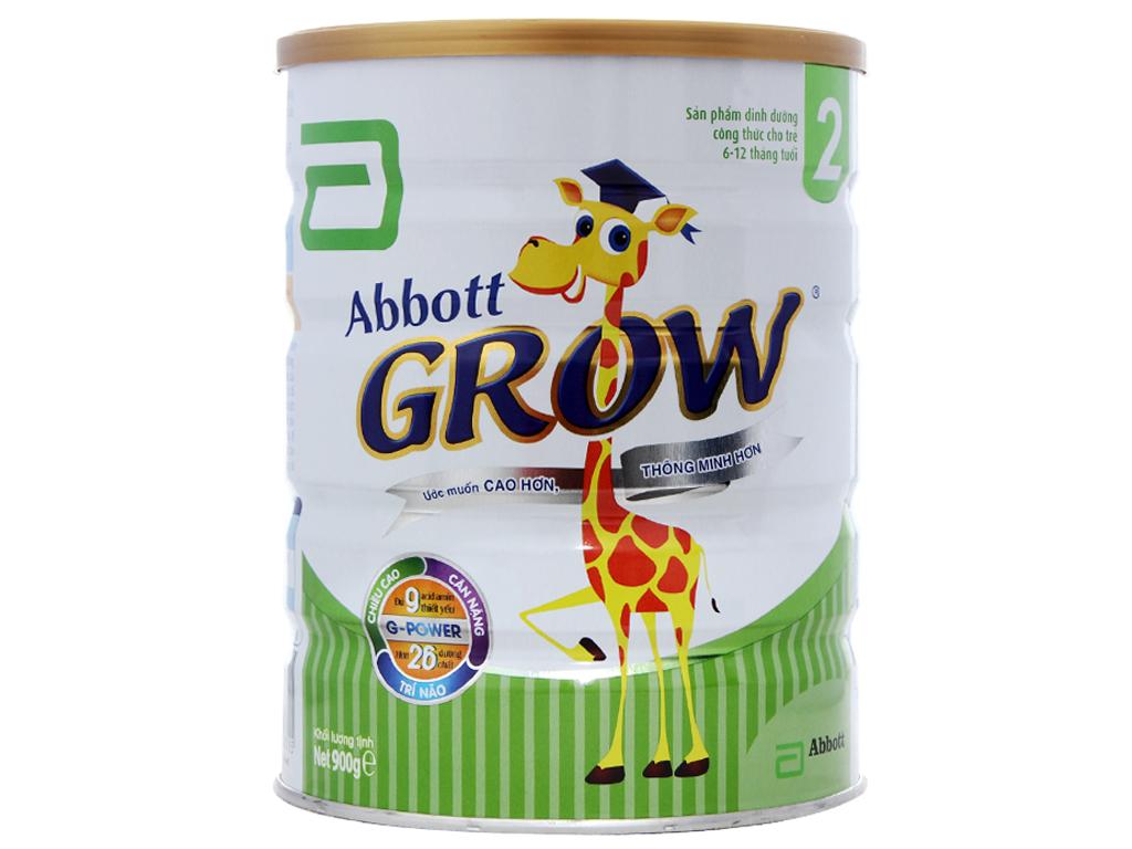 Sữa bột Abbott Grow 2 lon 900g (6 - 12 tháng) 1