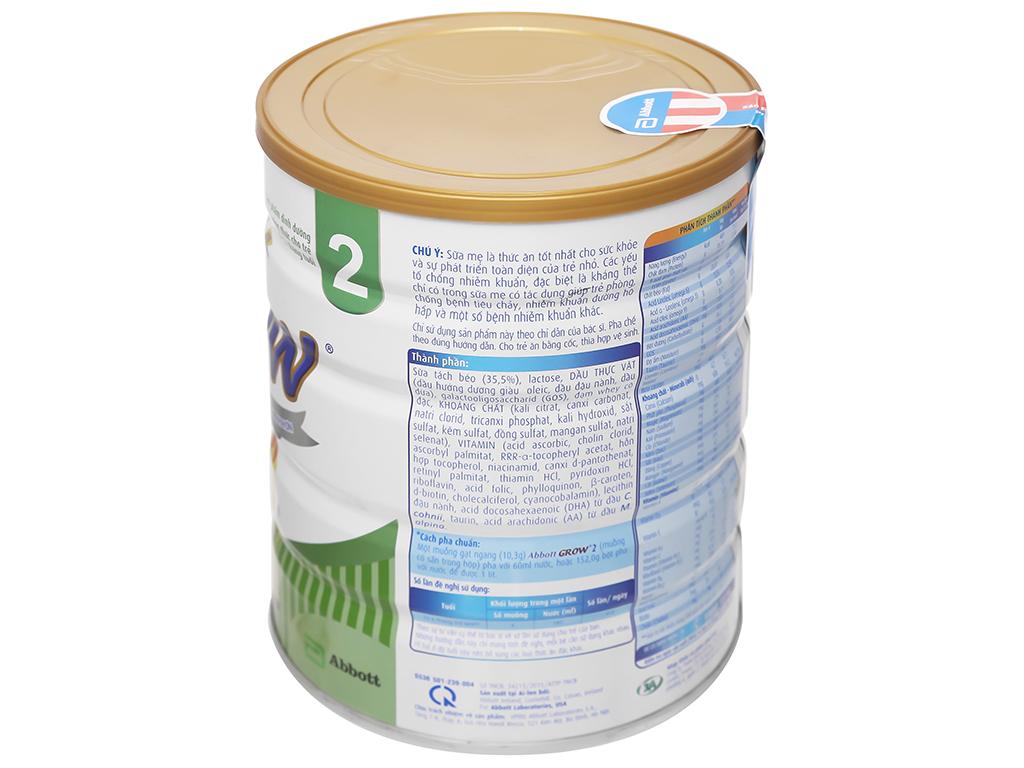 Sữa bột Abbott Grow 2 lon 900g (6 - 12 tháng) 7