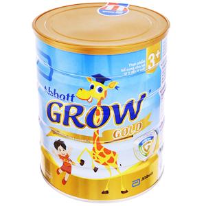 Sữa bột Abbott Grow Gold 3+ vani lon 900g (3 - 6 tuổi)