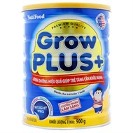Sữa bột GrowPLUS+ tăng cân khỏe mạnh 900g (bé trên 1 tuổi)