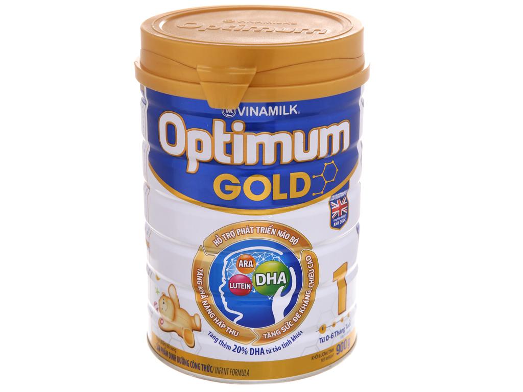 Sữa bột Optimum Gold 1 lon 900g (0 - 6 tháng) 2