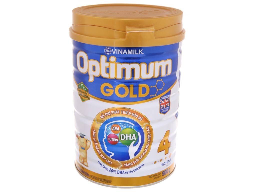 Sữa bột Optimum Gold 4 lon 900g (2 - 6 tuổi) 2