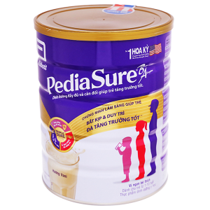 Sữa bột Abbott PediaSure BA vani lon 1,6kg (1 - 10 tuổi)