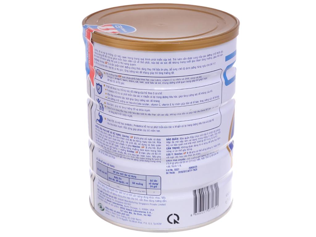 Sữa bột Abbott Similac Eye-Q Plus 3 lon 900g (1 - 2 tuổi) 2