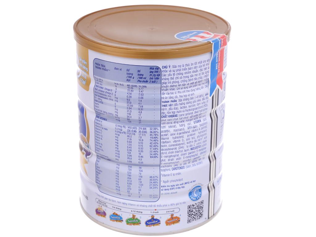 Sữa bột Abbott Similac Eye-Q Plus 3 lon 900g (1 - 2 tuổi) 3