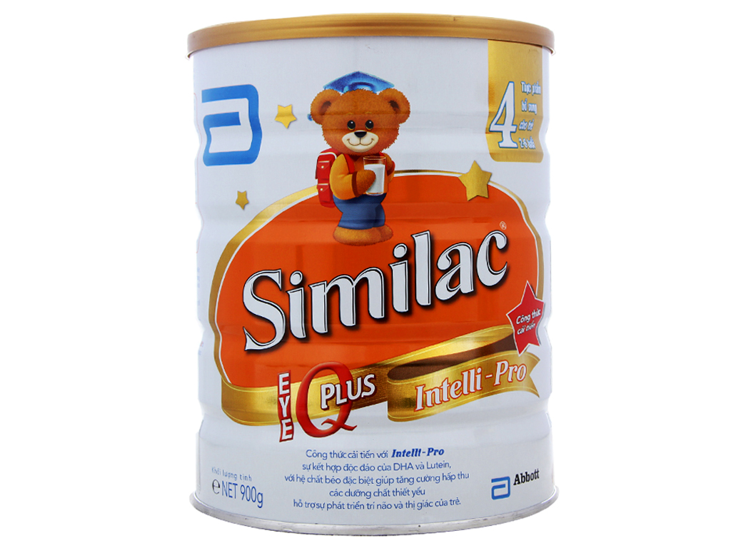 Sữa bột Abbott Similac Eye-Q Plus 4 lon 900g (2 - 6 tuổi) 1