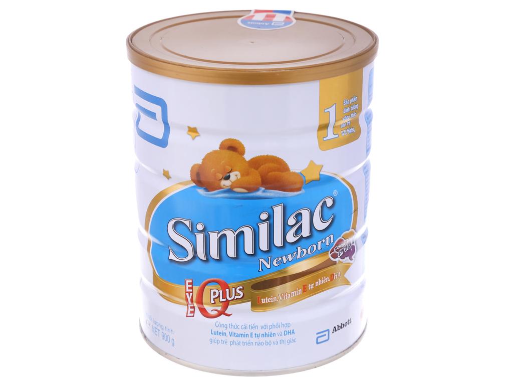 Sữa bột Abbott Similac Newborn Eye-Q 1 Intelli-Pro lon 900g (0 - 6 tháng) 1