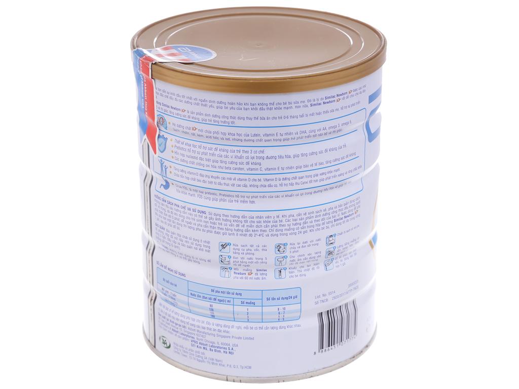 Sữa bột Abbott Similac Newborn Eye-Q 1 Intelli-Pro lon 900g (0 - 6 tháng) 2