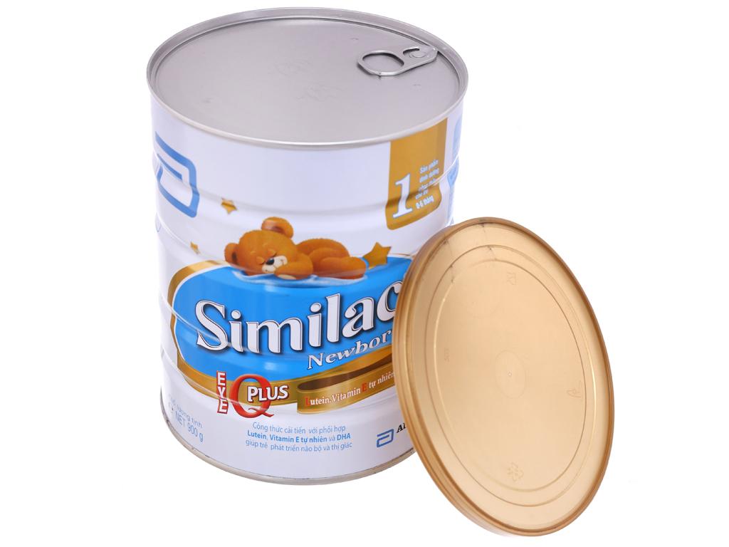 Sữa bột Abbott Similac Newborn Eye-Q 1 Intelli-Pro lon 900g (0 - 6 tháng) 4