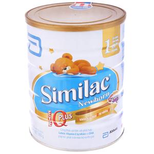 Sữa bột Abbott Similac Newborn Eye-Q 1 Intelli-Pro lon 900g (0 - 6 tháng)