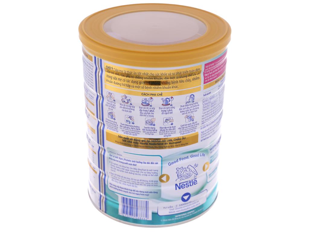 Sữa bột Nestlé Nan Optipro 1 lon 800g (0 - 6 tháng) 4