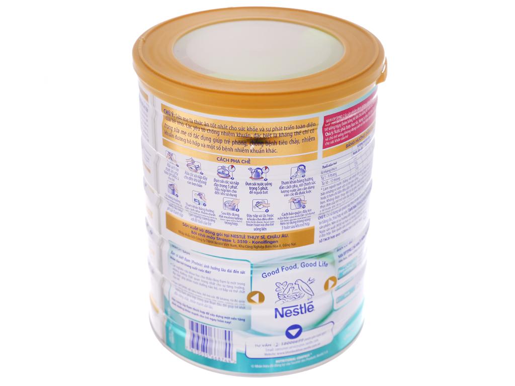 Sữa bột NAN Optipro 2 lon 800g (6 - 12 tháng) 4
