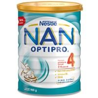 Sữa bột Nestle NAN Optipro 4 Kid 900g (cho bé 2-6 tuổi)