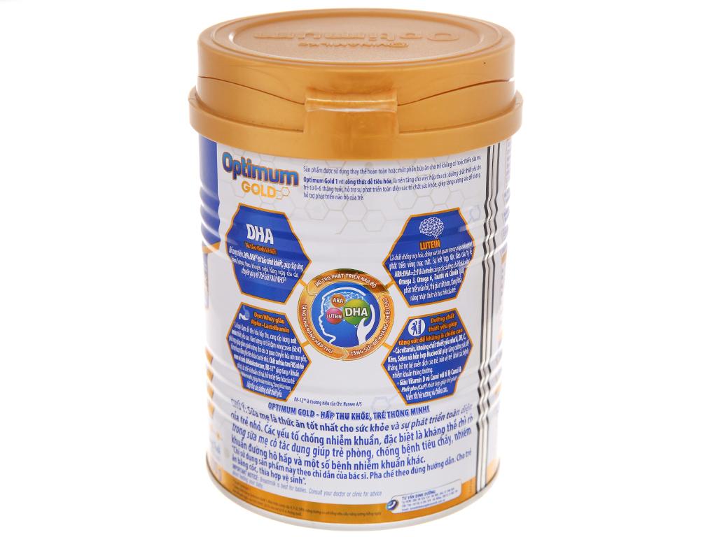 Sữa bột Optimum Gold 1 lon 400g (0 - 6 tháng) 3