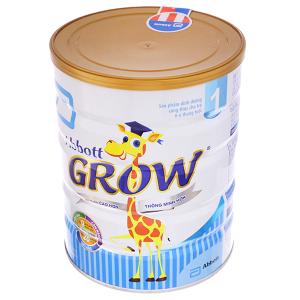 Sữa bột Abbott Grow 1 lon 900g (0 - 6 tháng)