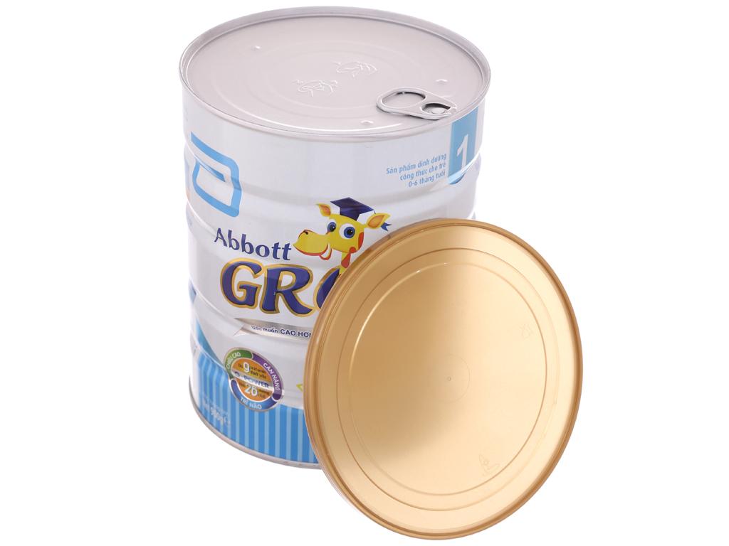 Sữa bột Abbott Grow 1 lon 900g (0 - 6 tháng) 5