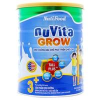 Sữa bột Nuvita Grow 3+ 900g (cho bé từ 3 tuổi trở lên)