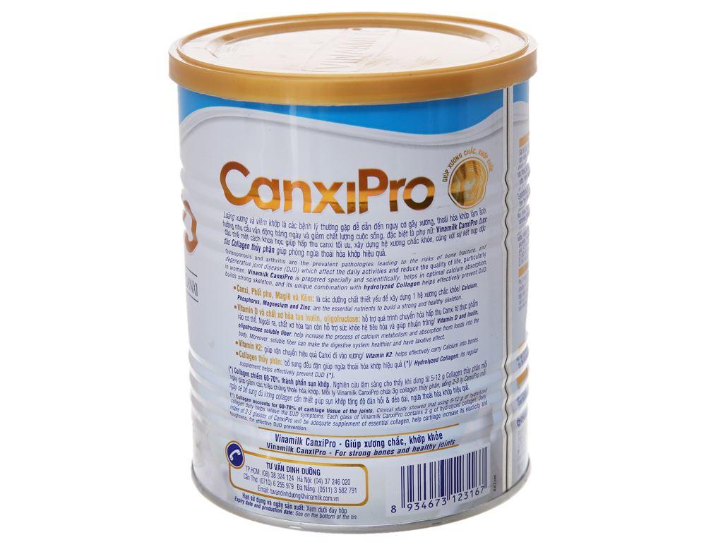 Sữa bột Vinamilk CanxiPro ít béo lon 400g (trên 30 tuổi) 4