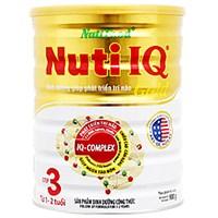 Sữa bột Nuti IQ Gold 3 900g (1 - 2 tuổi)