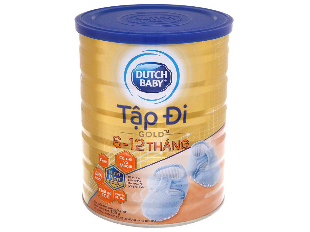 Sữa bột Dutch Baby Gold Tập Đi lon 900g (6 - 12 tháng) 2
