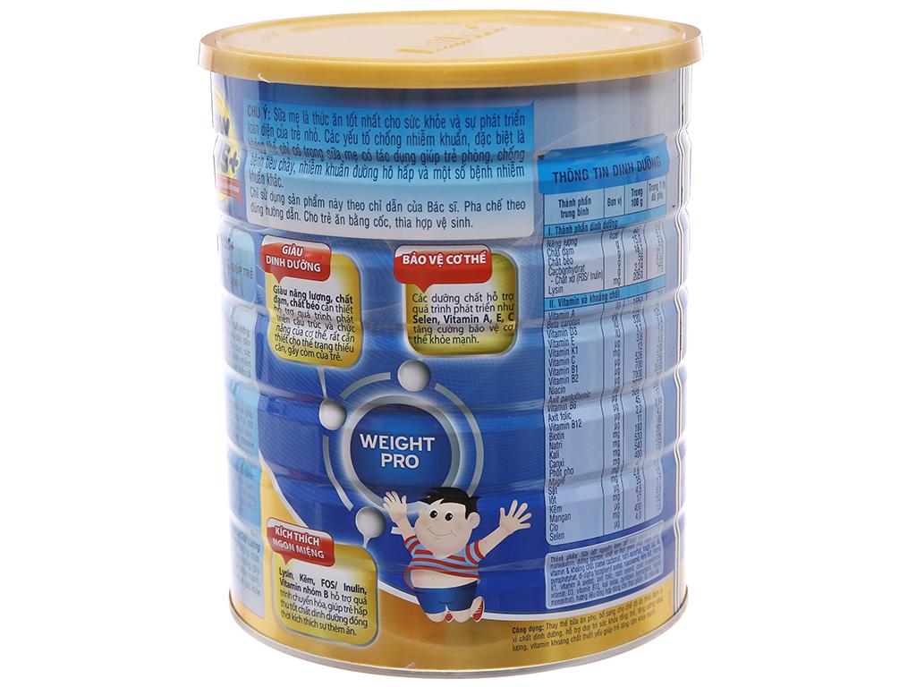Sữa bột NutiFood Grow Plus+ tăng cân khoẻ mạnh lon 1,5kg (trên 1 tuổi) 2