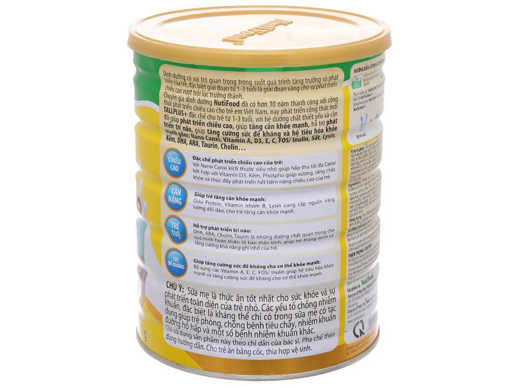 Sữa bột NutiFood Nuvita Grow 1+ lon 900g (1 - 3 tuổi) 3