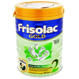 Sữa bột Frisolac Gold 2 hộp 900g (6 - 12 tháng)