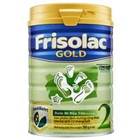 Sữa bột Frisolac Gold 2 900g (6 - 12 tháng)