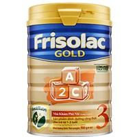 Sữa bột Frisolac Gold 3 900g (1 - 2 tuổi)