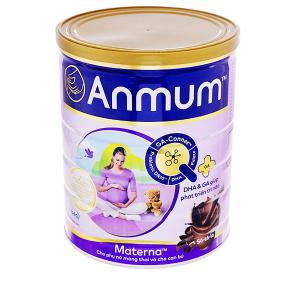 Sữa bột Anmum Materna sô cô la lon 400g