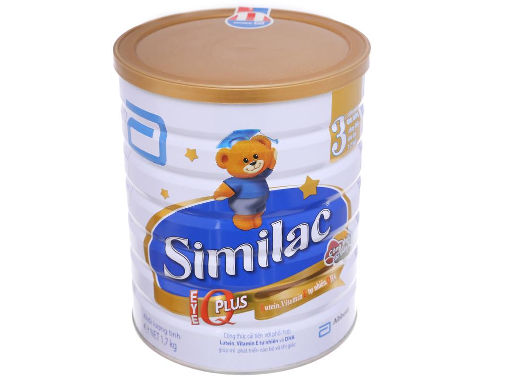 Sữa bột Abbott Similac Eye-Q 3 lon 1,7kg (1 - 2 tuổi) 1